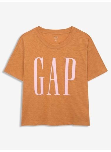 Gap Tişört Kahve